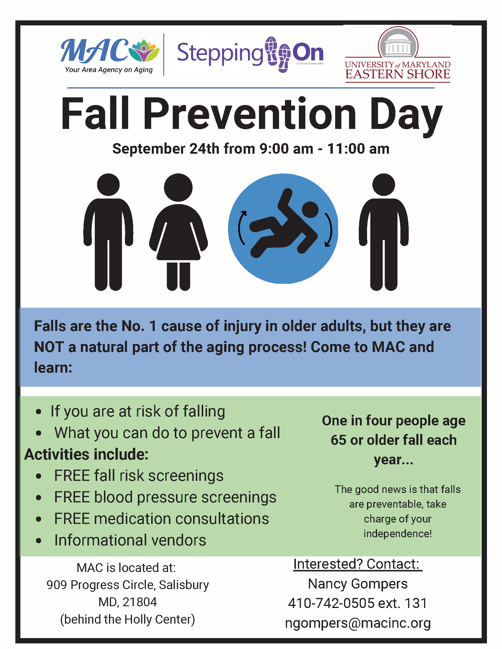 Copy of One in four people age 65 or older fall each year (2)